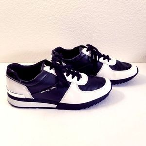 MICHEAL MK Leather Fashion Trainers Sneakers 9M